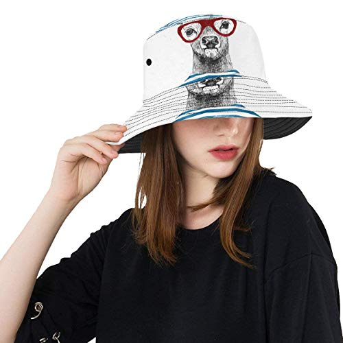 Sombrero para Sol Ciervo Vestido de Moda Verano Unisex Pesca Sol Top...