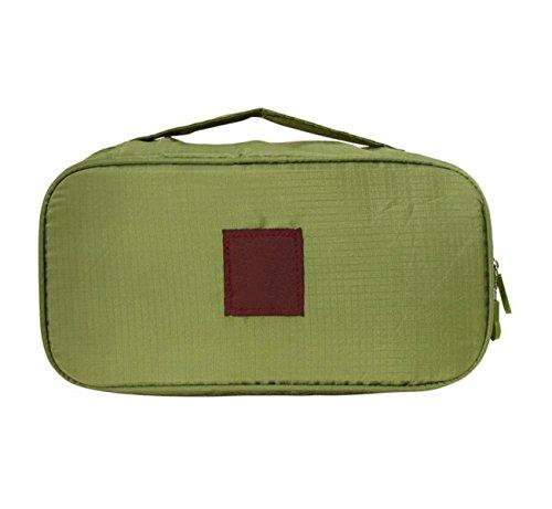 Paquet De Finition Soutien-gorge Sous-vêtements Sous-vêtements Multifonction Pochette Voyage Forfait D'admission Sac De Lavage,Green