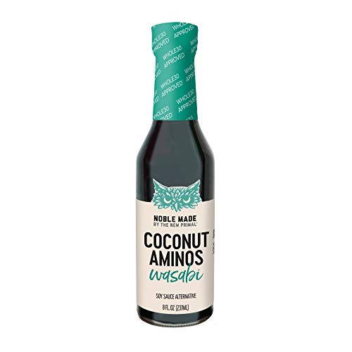 Noble Made by The New Primal Wasabi Coconut Aminos 8 Fl Oz
