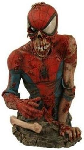 Spiderman Zombie exclusive bust figur