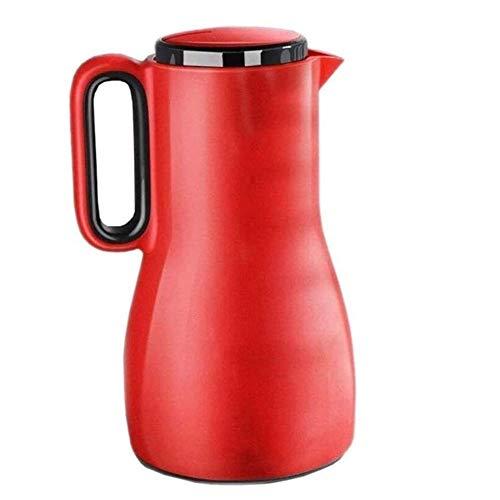 Jarra Térmica Cafe Jarra Termo Copa de Agua portátil de la Jarra de vacío aislada, Flask térmico-Aislamiento Europeo Pot Kettle Hogar de la casa Liner de Vidrio de Gran Capacidad Durable