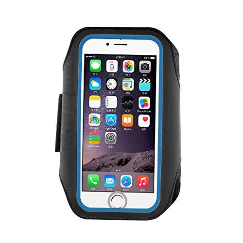 0 ℃ Outdoor Laufen Und Übung Armband Für Galaxy S8, S6 / S6 Edge Und iPhone X Mobile Handys Mit Einstellbarer Sport-Band, Reflektierende Grenze,Black