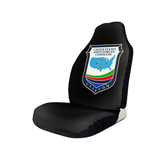 Fall Ing Comando de las Fuerzas Armadas de los Estados Unidos (Forscom) Funda de asiento de automóvil Protector Fundas de cojines Se adapta a la mayoría de los automóviles