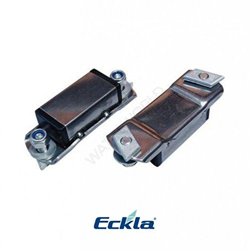 Eckla Thule Adapter für Dachträger mit Nut Edelstahl, pro Paar