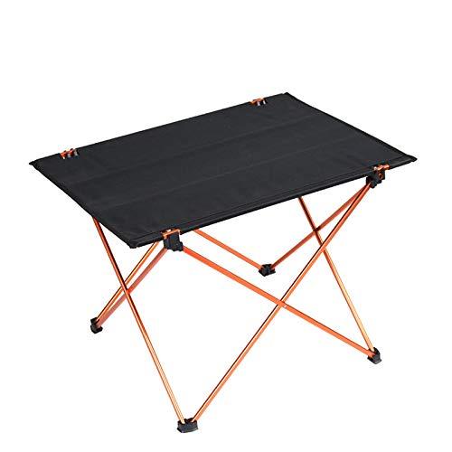 SOOTOP Mesa plegable al aire libre, mesas plegables de picnic, mesa plegable de aluminio, mesa plegable para camping, mesa de picnic y barbacoa