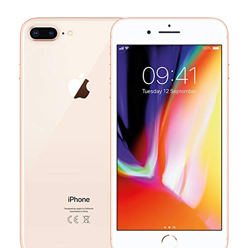 Apple iPhone 8 Plus 64GB Unlocked - Gold (Renewed)