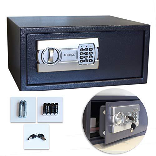 Caja fuerte digital para portátil, uso doméstico u oficina, para montaje en pared o suelo (200x430x350)