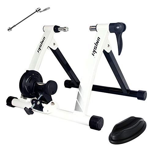 UNISKY Turbo Trainer Bike Trainer Stand Indoor Exercise Magnetic Bicycle Training Stand Quick Release Riding Stand for Mountain & Road Bike