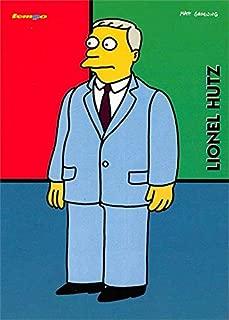 Lionel Hutz trading card (The Simpsons, Miguel Sanchez, Attorney) 1996 Tempo #24