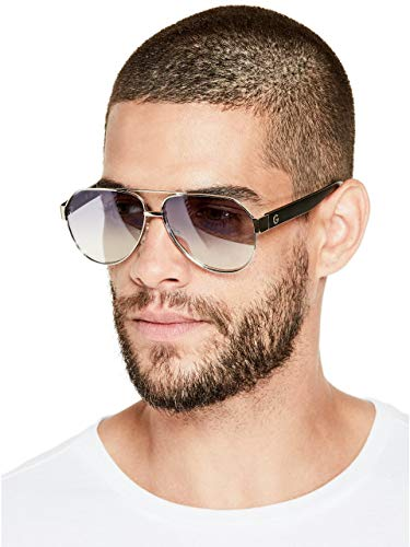 Guess GG2141-6110C Gafas, Gris, 61/18/145 para Hombre