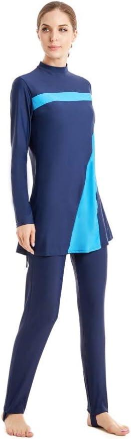 nadamuSum Maillots de Bain Musulman Femmes Filles Maillot de Bain Muslim Swimwear Filles Dames Modeste Couverture compl/ète Beachwear Burqini Burkini