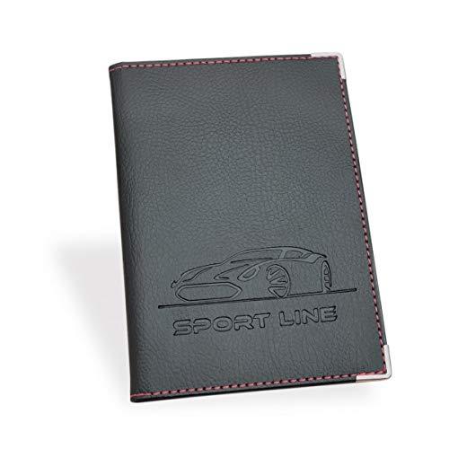 Porta Documenti Auto per Assicurazione, Patente, Carta di Circolazione SPORT LINE