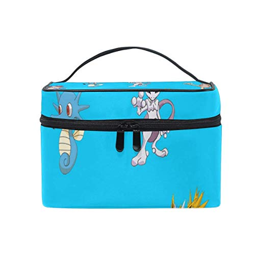 Trousse de maquillage Cute Sealife Cosmetic Bag Portable Large Toiletry Bag for Women/Girls Travel