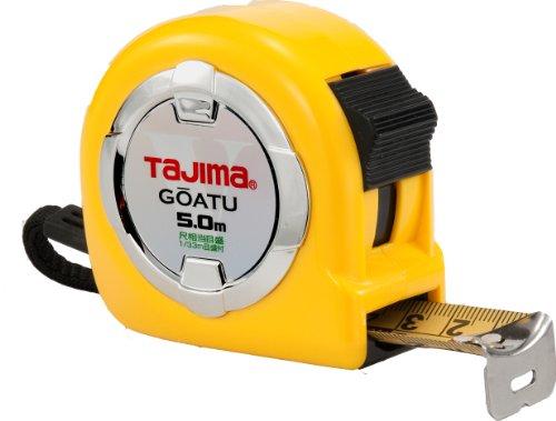 タジマ(Tajima) コンベックス 剛厚テープ5m×25mm 剛厚ロック25 尺相当目盛付 GAL2550S