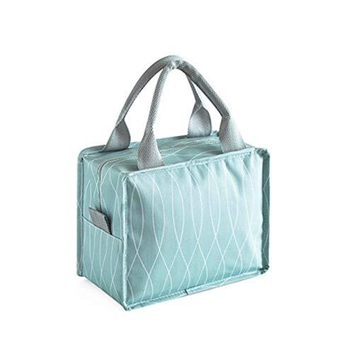 Bolsa de Picnic Bolsa de Almuerzo Bolsa de Almuerz Cremallera caja de almuerzo del bolso del almuerzo del bolso del almuerzo los niños y adultos bolsa puede mantener los alimentos calientes Para Fiamb