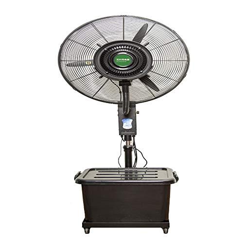 Axdwfd industriële mistventilator, voeg water toe en bevochtig de industriële verstuiver, elektrische ventilator voor koelwater. Krachtige staande ventilator.