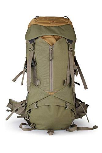 XMLDS Mochila de Trekking, Camping y Senderismo,Mochila táctica Mochila táctica 45L / Bolsa de Alpinismo/Bolsa de Exterior, 45L_ Verde Oliva