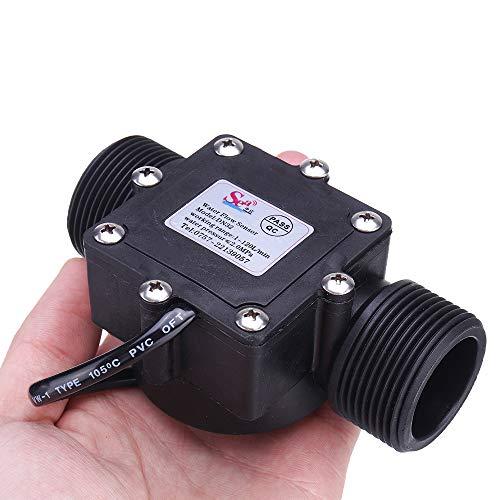 G1-1/4 1,25 Zoll Wasserdurchflusssensor Schalter Meter Durchflussmesser Zähler 1-120 l/min