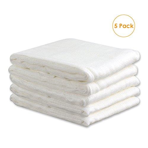 100% di fibre di garofano di qualità del cotone non greggio per ottenere vita sana. Grande formato da 3 metri (20 piedi quadrati) cheesecloth che può essere tagliato in qualsiasi forma o dimensione è necessario. Strumenti di cottura perfetti - Ideali...