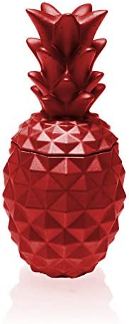Candellana Candles Candlefort Concrete Sc Candle- Translated Pineapple Regular dealer Red