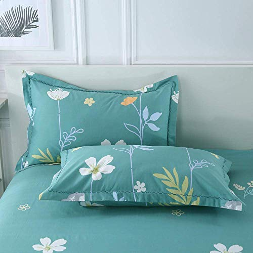 ADSE Taies d'oreiller de Femme au Foyer Standard Confortables, taie d'oreiller de ménage d'enveloppe Simple et à la Mode-Pink_48 * 74cm, taie d'oreiller 100% Pure Soie Naturelle