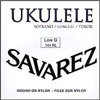 サバレス ウクレレ弦 LOW-G弦バラ ソプラノ・コンサート・テナーウクレレに対応 SAVAREZ 144RL Low-G- Ukulele Wound Strings (1本)