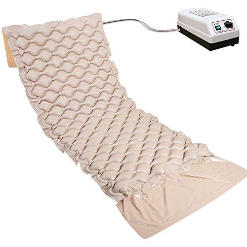 MASODHDFX Medische ziekenhuis-ziekenhuis-verwisselbare luchtmatras met pomp voorkomen decubitus en decubitus-pneumatisch massagekussen, USPlug
