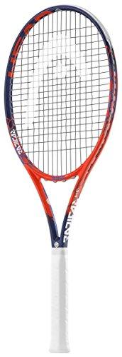 HEAD Graphene Touch Radical MP Tennisschläger, Verschiedene Griffgrößen und Saitenfarben, rot, 4-3/8