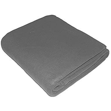 Utopia Bedding Polar Fleece Blanket (Queen, Gray) - Extra Soft Brush Fabric - Super Warm Bed Blanket - Lightweight Couch Blanket - Easy Care