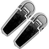 APDTY 035271 Rear Window Glass Hatch Hinge Set Pair Fits 2002-2005 Ford Explorer 4-Door Or Mercury Mountaineer 4-Door (Rear Left & Rear Right Included; Replaces 2L2Z78420A68AA, 2L2Z-78420A68-AA)