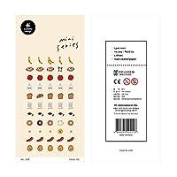 韓国輸入ブランドコーヒーフルーツミニサトリエステッカースクラップブッキングDIYジャーナリング日記文房具ステッカー美的