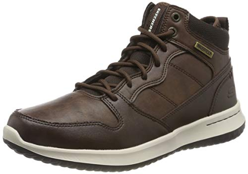 Skechers Men's Delson Classic Boots, Brown (Chocolate Leather Chocolate), 8 UK (42 EU)