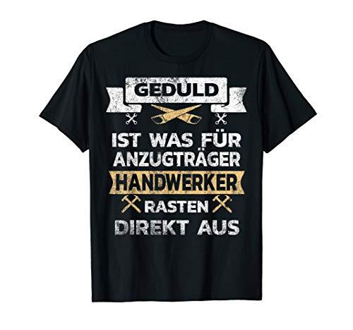 Lustiges Vintage Design für Handwerker Geschenk T-Shirt