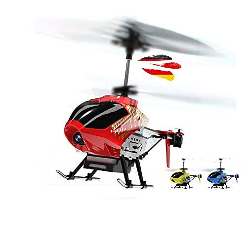 Himoto HSP 3.5-Kanal 2.4GHz RC Ferngesteuerter Hubschrauber mit WiFi Kamera Live Übertragung, Komplett-Set inkl. Li-Po Akku
