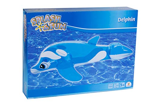 Splash & Fun Reittier Delphin, 133 x 76 x 46 cm