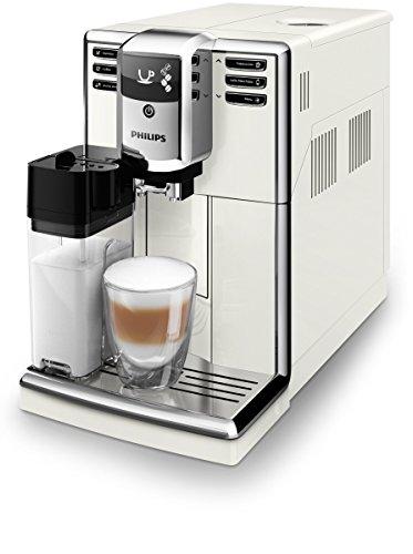 Philips 5000 Series Koffiezetapparaat, vrijstaand, espressomachine, 1,8 l, koffiebonen, maalwerk, geïntegreerde maalwerk, wit