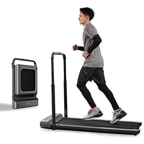 Gululu Walking Machine Cinta de Correr Plegable Inteligente, Digital, eléctrica, Ultrafina, Plegable, Fitness, Correr, Entrenamiento, Ejercicio Aeróbico, Apto para Interior