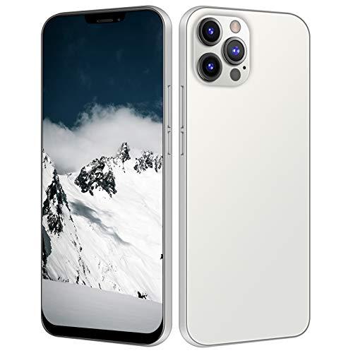 i12 Pro Max Smartphone, 6.7 pulgadas HD 6GB + 64GB Tarjeta SIM dual 3G 16MP...