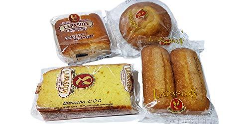 LAPASION - Caja Surtida Desayunos | Sobaos | Magdalena larga