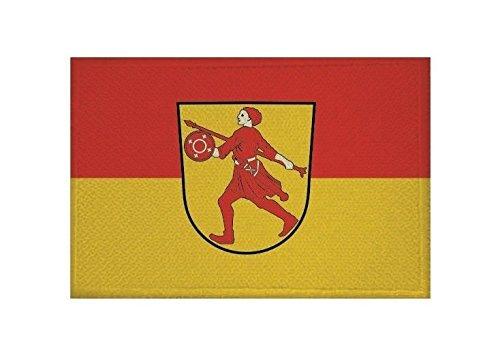 U24 Aufnäher Wilhelmshaven Fahne Flagge Aufbügler Patch 9 x 6 cm