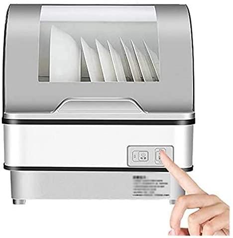 OH Mini Lavavajillas, Lavavajillas Portátil, sin Necesidad de Instalar Desinfección Rápida Completamente Automática, Secado Y Alenamiento Moda