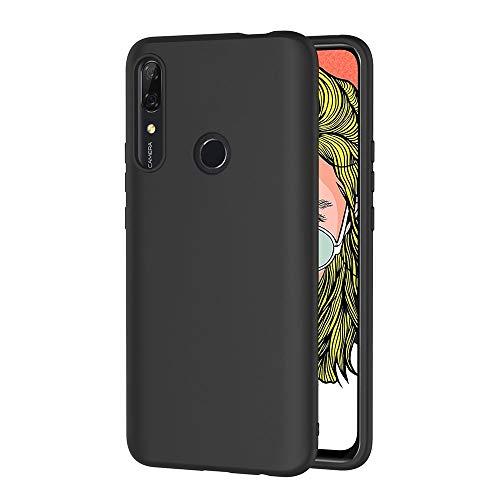AICEK Cover Compatible Huawei P Smart Z Cover P Smart Z Nero Silicone Case Molle di TPU Sottile Custodia per Huawei P Smart Z (6.59 Pollici)