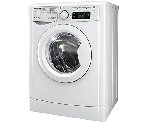 Lavasciuga slim Classe A Indesit profondità 53.5 cm- Indesit Ewde 71280 W Lavatrice Asciugatrice, 7 Kg / 5 Kg, bianca