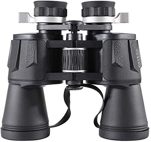 DZCGTP Binoculares 20x50 Binocular portátil Compacto Binocular con binoculares de luz débil Clara con Adaptador de teléfono Inteligente para observación de Aves