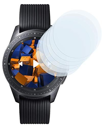 mumbi Schutzfolie kompatibel mit Samsung Galaxy Watch 42mm Folie klar, Displayschutzfolie (6x)