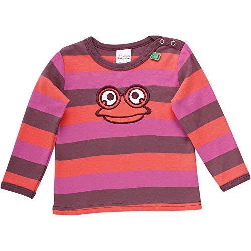 Fred'S World By Green Cotton Hello T T-Shirt, Violet (Plum Purple 019231101), 86 Bébé Fille
