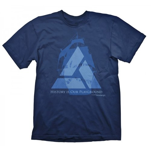 Assassins Creed - T-shirt de sport - - Col ras du cou - Manches courtes Homme, Bleu (Navy), FR : Small (Brand size : Small)