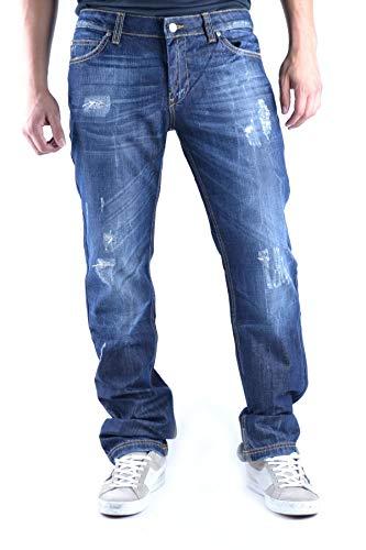 Frankie Morello Luxury Fashion Mens Jeans Spring Blue