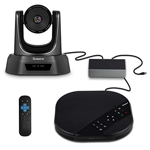 Tenveo Group All-in-One Video Conferencing System, USB PTZ Conference Room Camera (3X Zoom TEVO-VA2000)