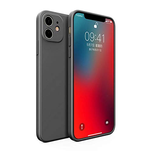 Custodia per iPhone WZSCH è una custodia per telefono in silicone liquido quadrato morbida e resistente per iPhone 12 11 Pro Max 12 Mini X XS XR 7 8 Plus Cover posteriore in TPU di lusso ultra so